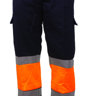 202 PANTALON BICOLOR MAR-ORANGE BOL